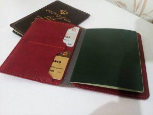 سفارش چاپ انواع جلد پاسپورت