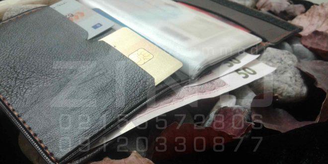 قیمت کیف مدارک بیمه چسبی مردانه